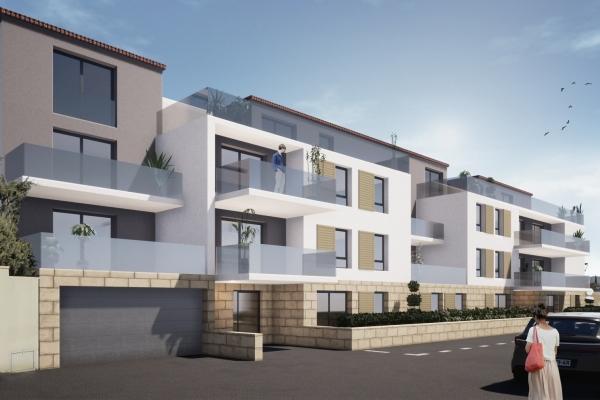 Immeuble de logements à Aubagne Saint Michel D
